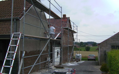 Pleisterwerken Luc De Vuyst - Gaasbeek