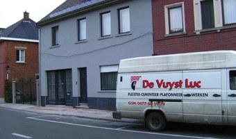 Pleisterwerken Luc De Vuyst - Brakel